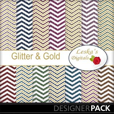 Glittergolddigitalpaper