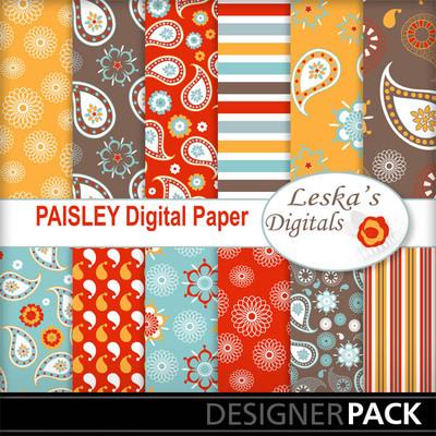 Paisleydigitalpaper
