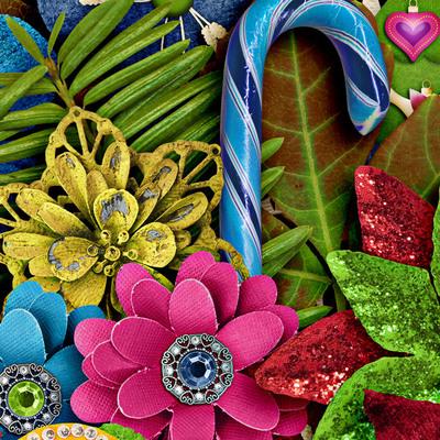 Lisarosadesigns_santaclausiscomingtotown_closeup2