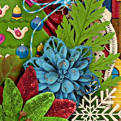 Lisarosadesigns_santaclausiscomingtotown_closeup3