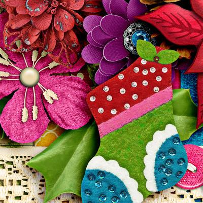 Lisarosadesigns_santaclausiscomingtotown_closeup6