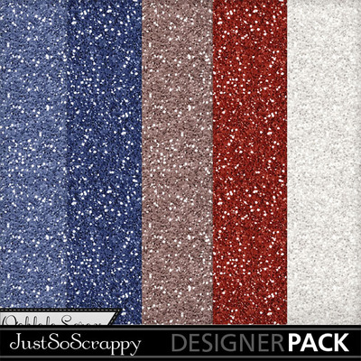 Stars_stripes_glitter_papers