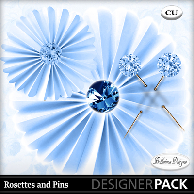 Rosettes_and_pins_blue
