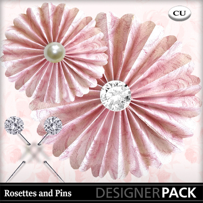 Rosettes_and_pins_pink