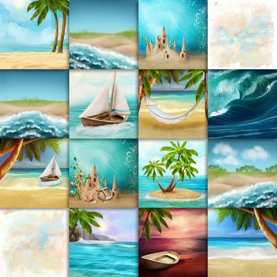 Kastagnette_caribbeanparadise_papiers_pv