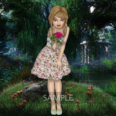 Fairy_and_the_rose4