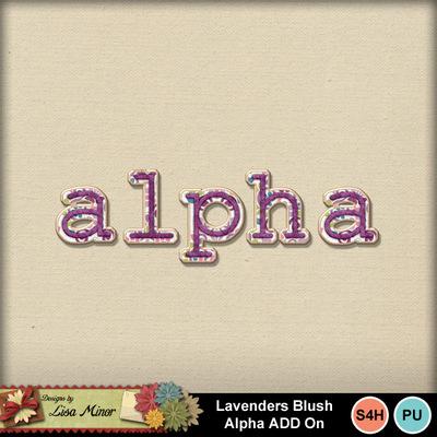 Lavendersblushalpha