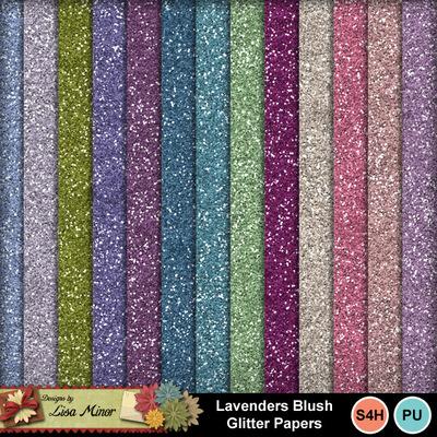 Lavendersblushglitters