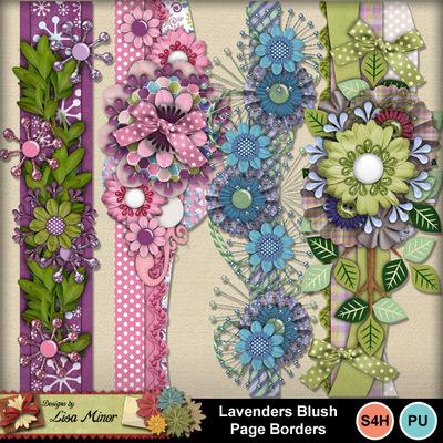 Lavendersblushborders