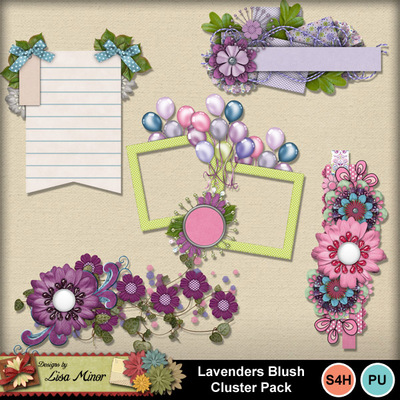 Lavendersblushclusters