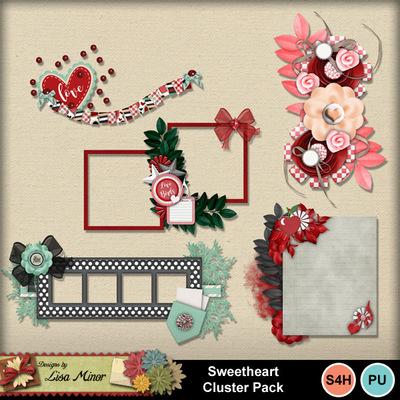 Sweetheartclusters