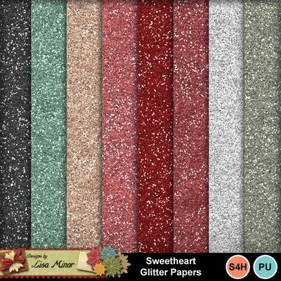 Sweetheartglitterpapers