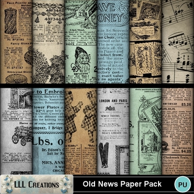 Old_news_paper_pack-01