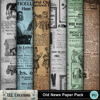 Old_news_paper_pack-03