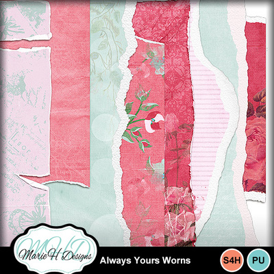 Always_yours_worn_papers_01