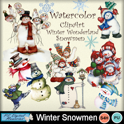Winter_snowmen