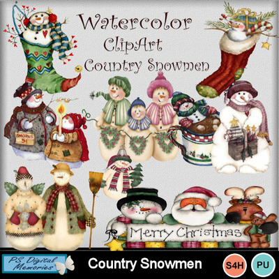 Country_snowmen1