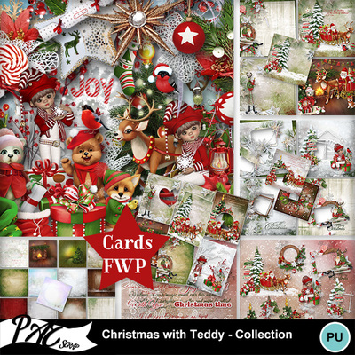 Patsscrap_christmas_with_teddy_pv_collection