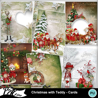 Patsscrap_christmas_with_teddy_pv_cards