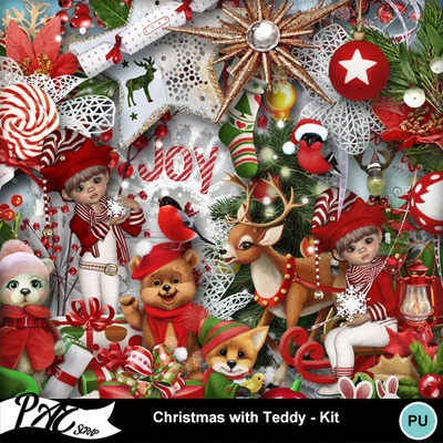 Patsscrap_christmas_with_teddy_pv_kit