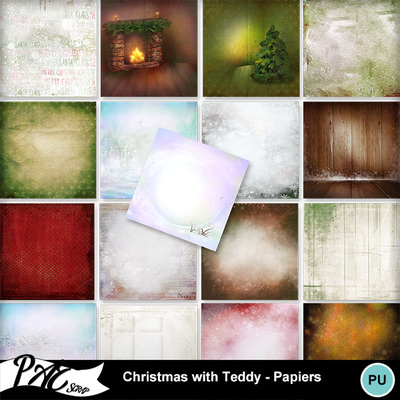 Patsscrap_christmas_with_teddy_pv_papiers