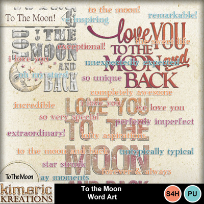 To_the_moon_word_art