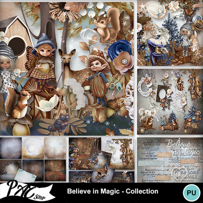 Patsscrap_believe_in_magic_pv_collection