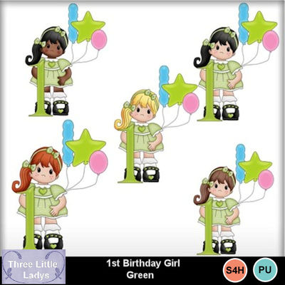 1st_birthday_girl_green