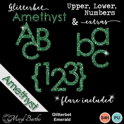 Glitterbet_emerald