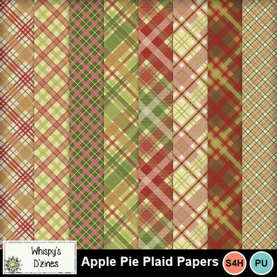 Wdapplepieplaidspv