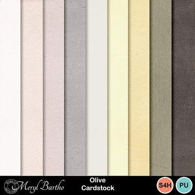 Olive_cardstock