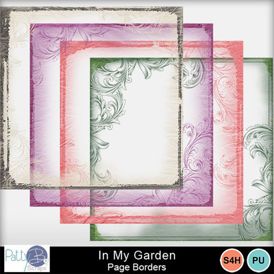 Pbs_in_my_garden_page_borders