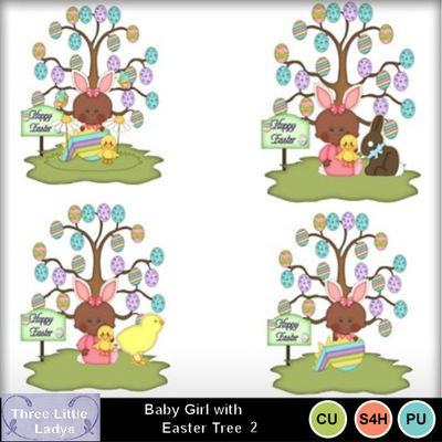 Baby_girl_with_easter_tree-2