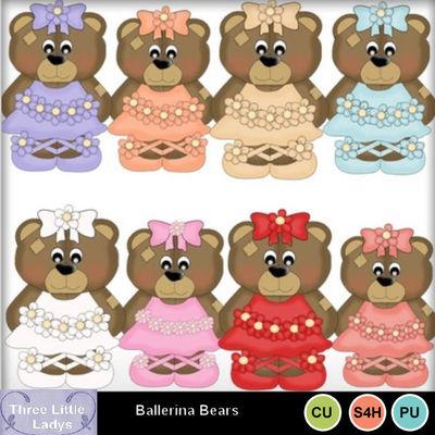 Ballerina_bears