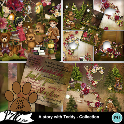 Patsscrap_a_story_with_teddy_pv_collection