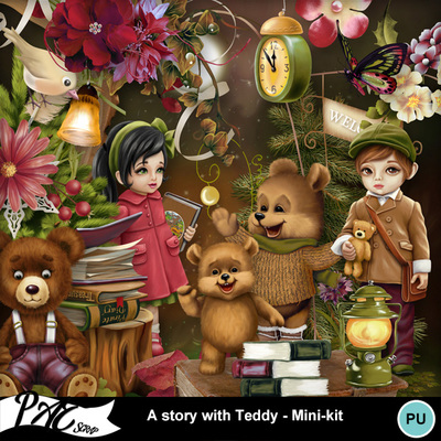 Patsscrap_a_story_with_teddy_pv_mini_kit