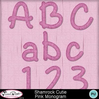 Shamrockcutie_pinkmono