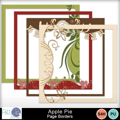 Pbs-apple-pie-page-borders