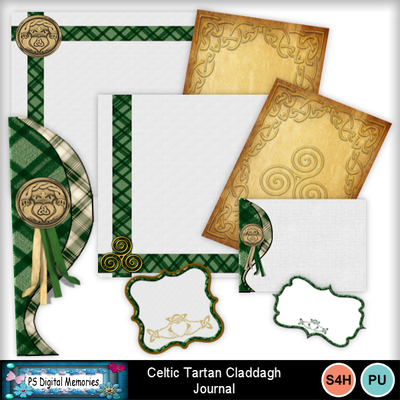 Celtic_tartan_claddagh_journal