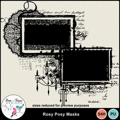 Rosy_posy_masks