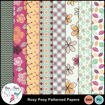 Rosy_posy_pattern_papers
