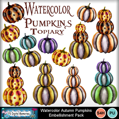 Watercolor_autumn_pumpkins