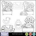 Bath_girls_line_art_small