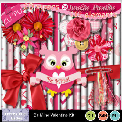 Be_mine_valentine_kit