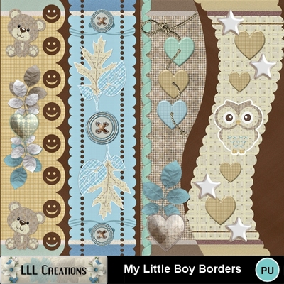 My_little_boy_borders-01
