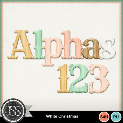White_christmas_alphabets