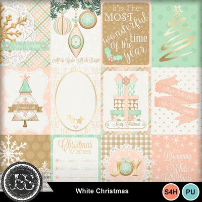 White_christmas_journal_cards