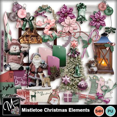 Mistletoe_christmas_elements