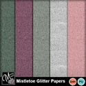 Mistletoe_gliiter_papers_small