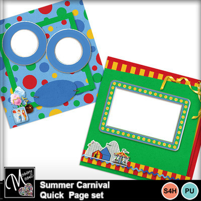 Summer_carnival_quick_page_set